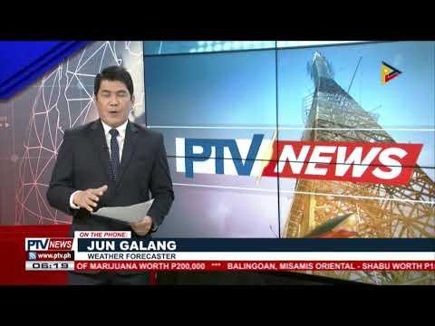 PTV INFO WEATHER | #BagyongTino, nag-landfall na sa bahagi ng Palawan