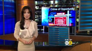 Sharon Tay 2011/11/03 8PM KCAL9 HD; Satin white top, pokies