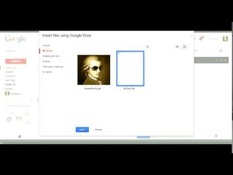 how to send pictures using google drive