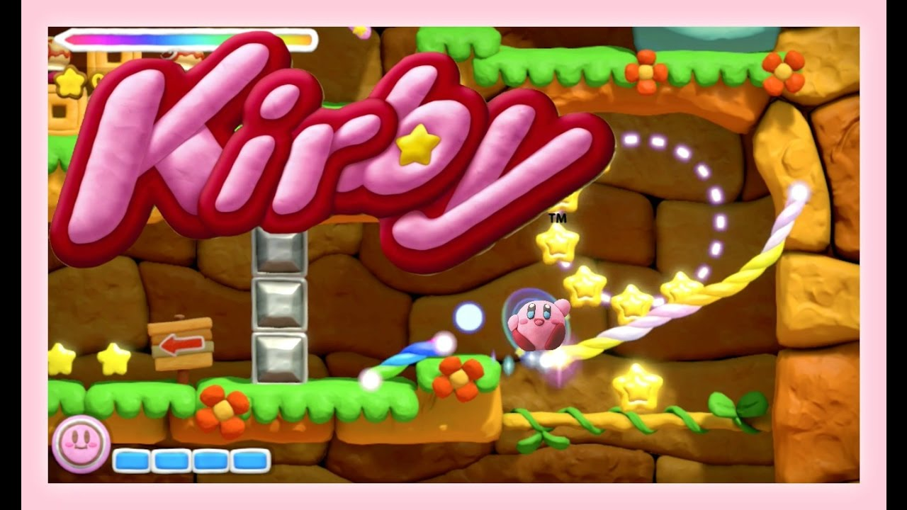 kirby and the rainbow paintbrush adventure sqaishey