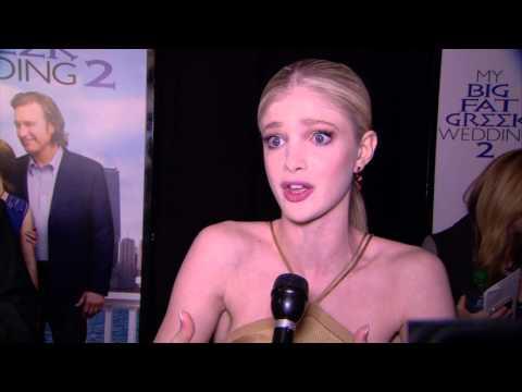 My Big Fat Greek Wedding 2: Elena Kampouris Red Carpet Movie Premiere Interview