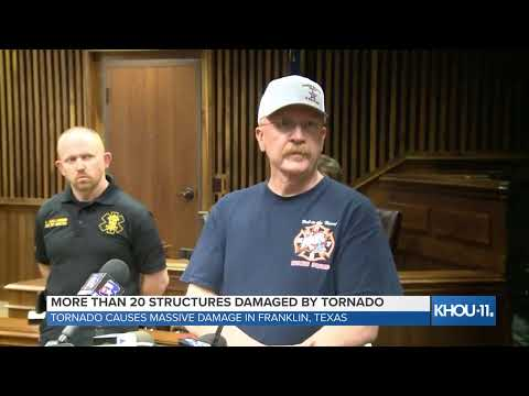 Local News - Robertson County officials give update on tornado damage in Franklin