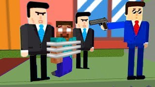 Monster School : MR BULLET SPY PUZZLE CHALLENGE - Minecraft Animation