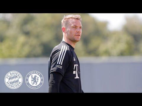 LIVE 🔴 Pressetalk mit Manuel Neuer & Hansi Flick | FC Bayern - FC Chelsea | Champions League