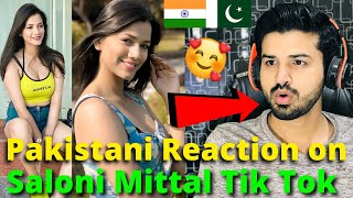 Pakistani React on Saloni Mittal Latest TIKTOK VIDEOS 2020 | Indian TikToker | Reaction Vlogger