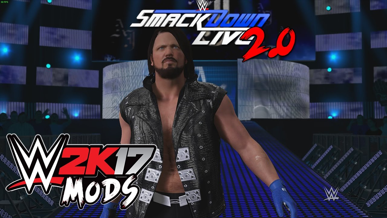 RN'Mods : WWE RAW & Smackdown Live arena Final 2017 RELEASED