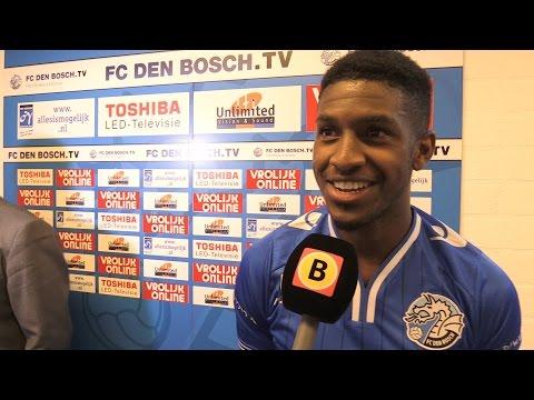 Brandon 'wereldgoal' Robinson en Wiljan 'CDA' Vloet na FC Den Bosch-FC Oss