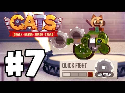 100 WIN STREAK WORLD RECORD HIGH SCORE | C.A.T.S | Crash Arena Turbo Stars Gameplay Part 7