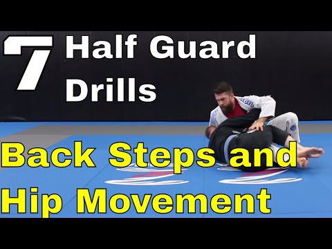 7 BJJ Drills to Build Quick Hips and Pass Half Guard (#3 is my fav)