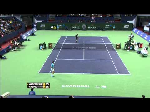 Highlights From The 2013 Shanghai Rolex Masters