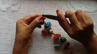 43. Silk Thread Waist Key Chain