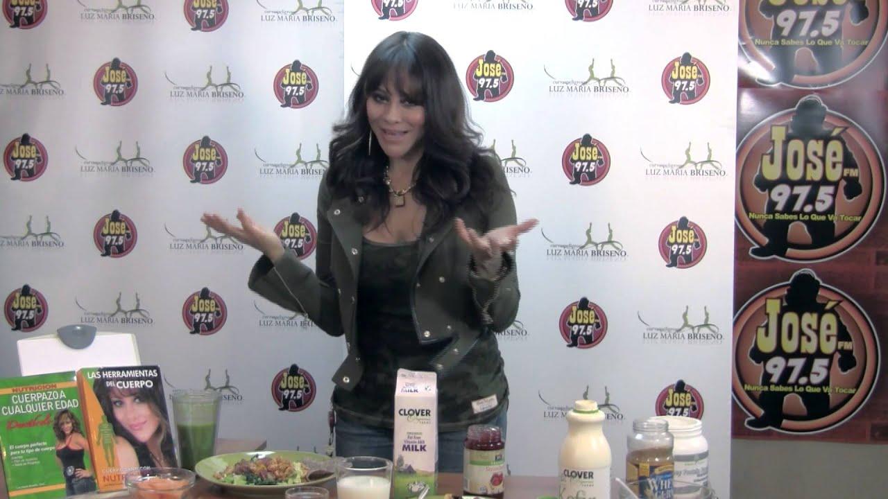Luz Maria Briseño Desayunos Saludables Youtube