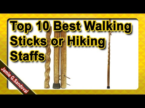 Top 10 Best Walking Sticks or Hiking Staffs to Buy in 2020