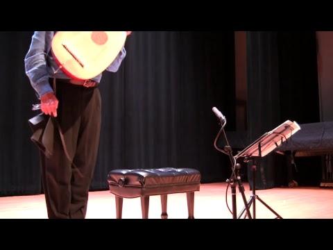 """Bach on the Lute"" Nigel North Lute Concert 9/30/17 - Rowan University"