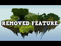 BEST REMOVED MINECRAFT FEATURE EVER