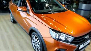 видео Седан Lada Vesta получил пакет опций Prestige