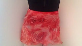 DIY: Ballet Wrap Skirt Tutorial