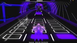 Audiosurf run: Supermode - Tell Me Why (Vocal Club Mix)