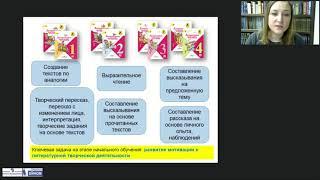 Обучение навыкам литературной творческой деятельности «Литературное чтение» УМК «Школа России»