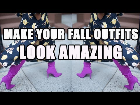 [VIDEO] - HOW TO MAKE FALL OUTFITS LOOK COOL 1