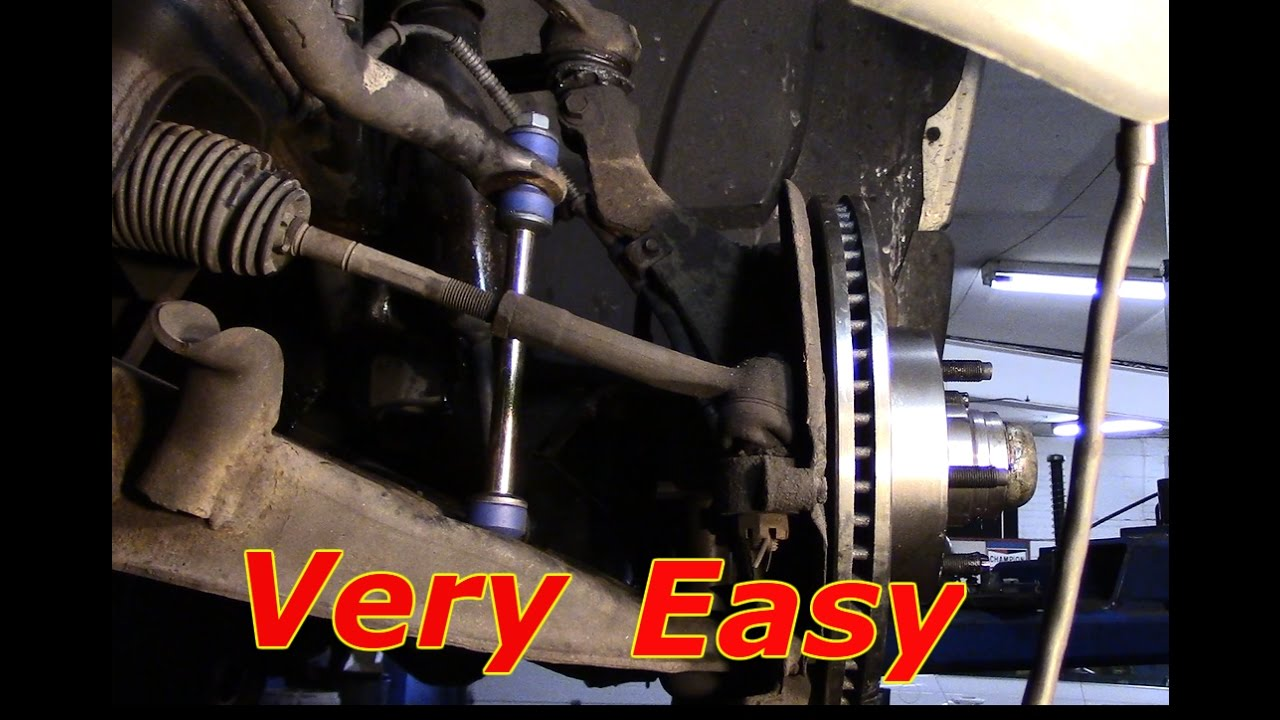 How to replace sway links on a 2003 Ford Explorer - YouTube