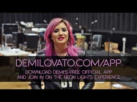 Demi Lovato - DOWNLOAD THE OFFICIAL APP! Thumbnail image