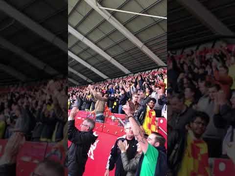 RICHARLISON, RICHARLISON! Watford Fans at Swansea 2-1