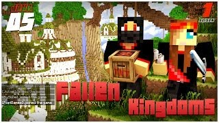 Minecraft - Fallen Kingdoms : PopiGames, BySliDe | Jour 5