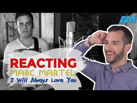 VOCAL COACH Reacts To MARC MARTEL Singing I WILL ALWAYS LOVE YOU