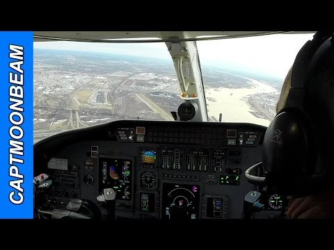 Cessna Citation Encore Landing St Louis Downtown Airport Gopro
