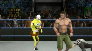 John Cena vs Spongebob Squarepants