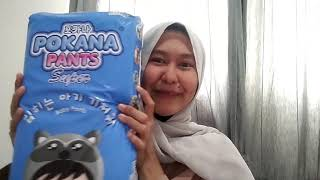 """Download Video Unboxing and review diapers """"Pokana Pants"""" baby MP3 3GP MP4"""