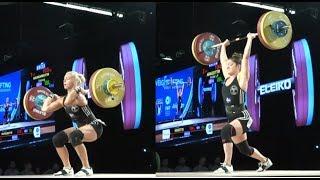 WOMEN 69kg B  CLEAN & JERK / 2017 WEIGHTLIFTING WORLD CHAMPIONSHIPS