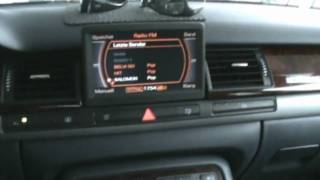 Audi A8 BOSE surround sound