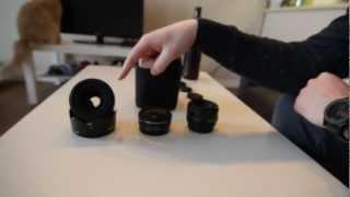 Sigma EX 30mm 1.4 vs Canon EF 40mm 2.8 vs Canon EF 50mm 1.8 - T3i
