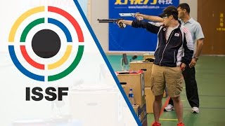 Finals 10m Air Pistol Men - ISSF World Cup in all events 2014, Beijing (CHN)