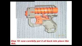NERF reflex air restrictor mod