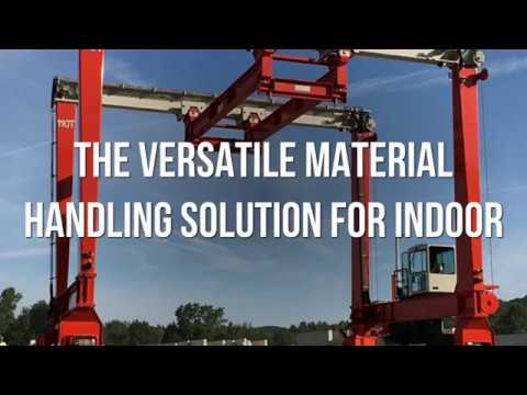 Gantry Cranes: The Versatile Material Handling Solution for Indoor Applications