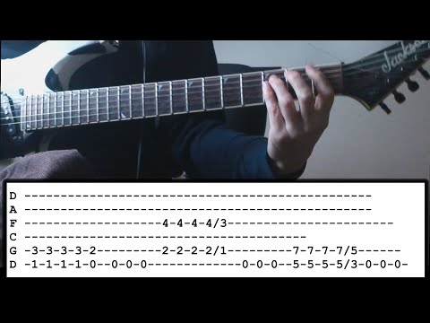 Megadeth - Post American World - Guitar Lesson