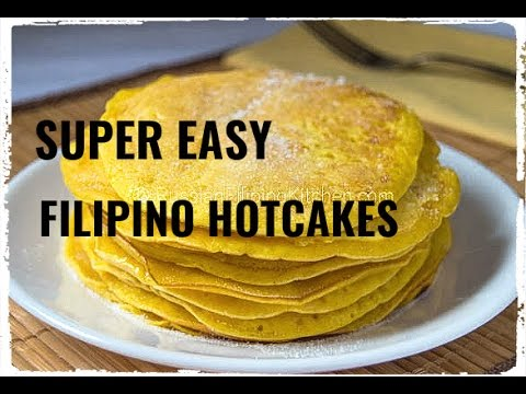 Super Easy Filipino Hotcakes