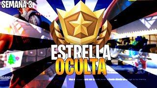 ESTRELLA OCULTA SEMANA 3 PANTALLA DE CARGA - TEMPORADA 7 Fortnite