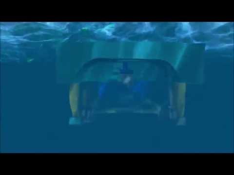 Simulador visual de operação com ROV