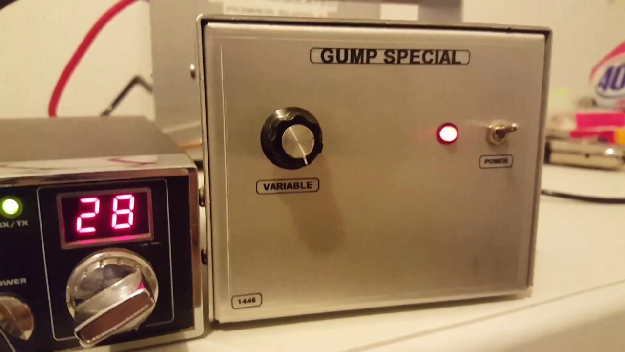Single SD1446 Modulator/Amplifier Gump Built