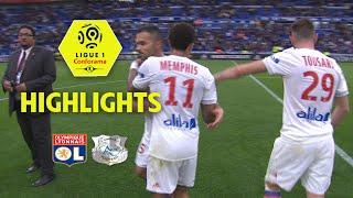 Olympique lyonnais - amiens sc ( 3-0 ) - highlights - (ol - asc) / 2017-18