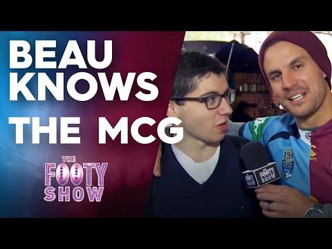 Beau Knows The MCG | Beau Knows