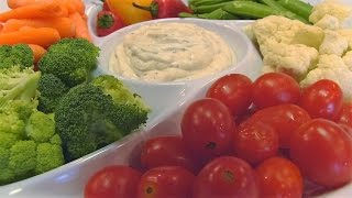 Bettys Easy Italian Dip with Vegetables