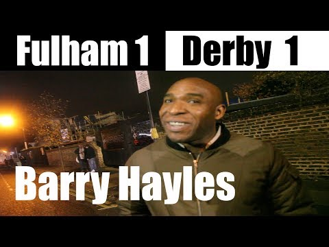 Fulham 1 Derby County 1   Need a Focal Point up front   EFL ( English Football League )