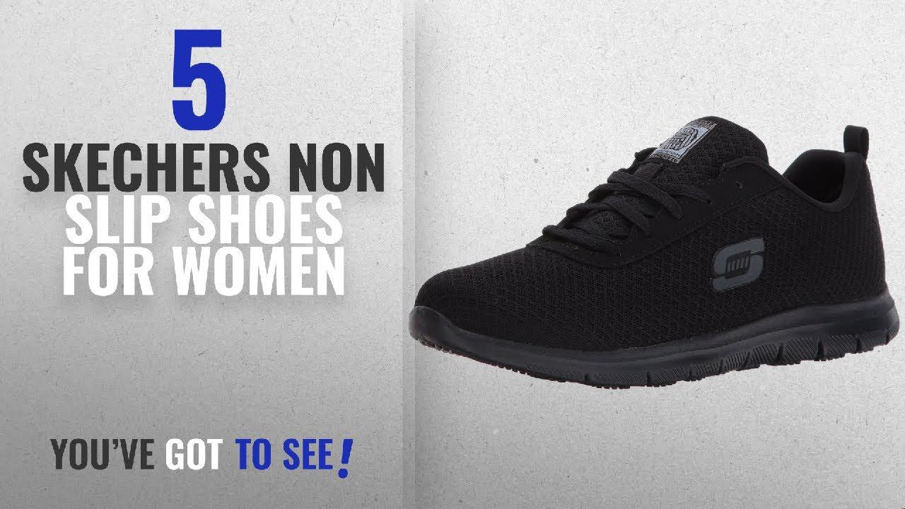skechers no slip work shoes
