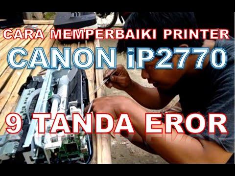 Video kali ini saya akan memberikan tutorial tentang Cara Mengatasi Tinta Print Canon ip2770 Putus-p.