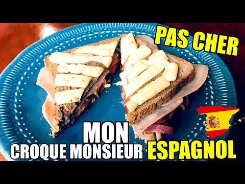 ma-version-du-croque-monsieur-espagnol-pas-cher-|-cheapfood